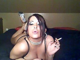 Smoking dreamgirl