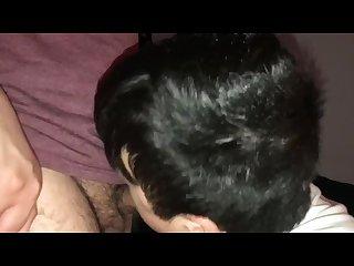Sucking straight friend during movie heismathewn