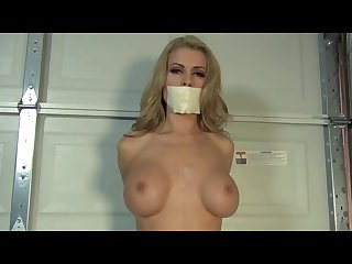 Randy moore tape gagged spread bondage