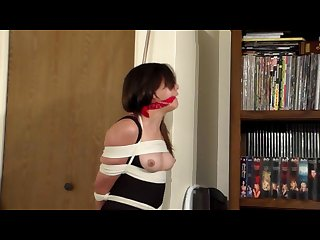 Janessa tied up