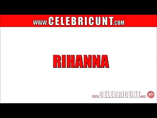 Naked caribbean celebrity rihanna showing tits shaven cunt