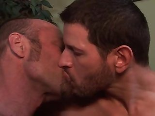 Straight divorced curious guy tries kissing another man for first time