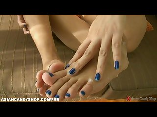 Asian foot fetish girls