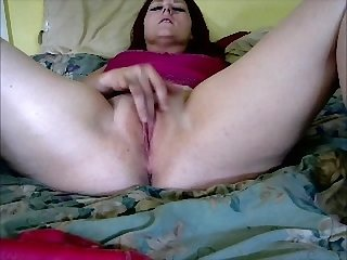 Busty young maddie finger fucks her cunt while giving jerk off instructions