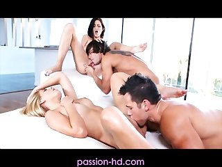 Passion hd young swingers sharing the fun