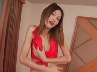 Asian tranny ass banged 2