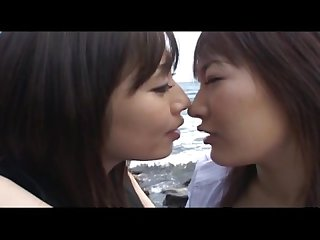 asian tounge kissing -japanese lesbian girls (dad047)