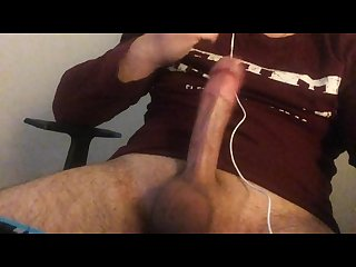 Masturbating and cumming before work