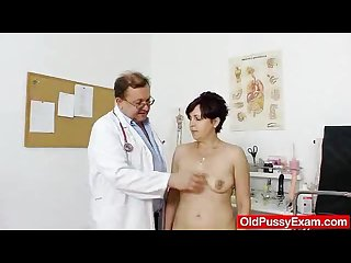 Redhead madam internal piss hole medical tool exam