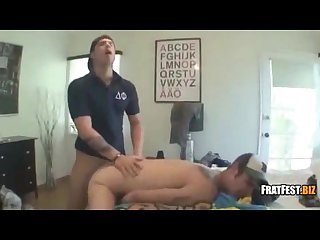 White dude gets his anus