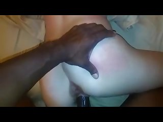 Freaky white girlfriend loves bbc