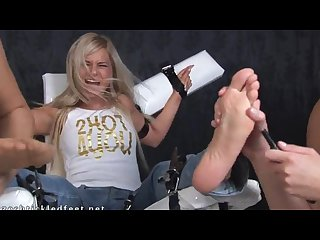 Lenka s extra ticklish feet