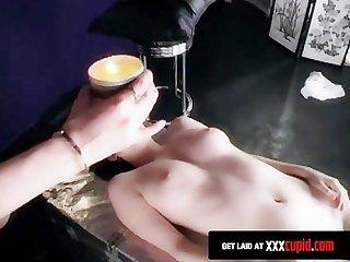 Bondage lesbian fetishists go wild