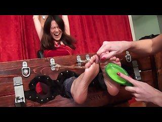 Japanese feet tickle7