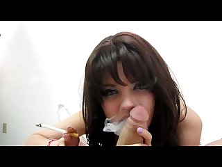 Smoking pov blowjob