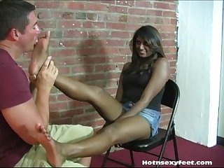 Indian babe philly foot worship