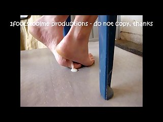 Footjob i fucked her cheating soles and feet 2