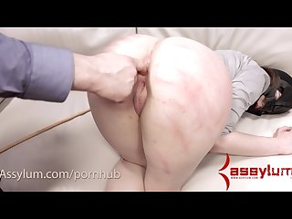 Brutal anal and ass to mouth while being caned