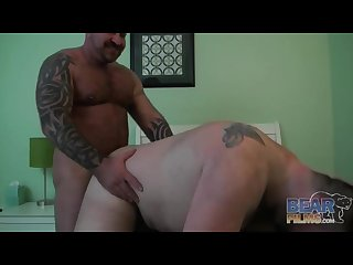 Great fuck scene a chub and a bear
