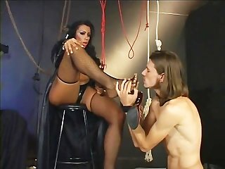 Foot worshipping transsexuals 03 scene 1