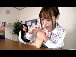 Jav lesl 305 lesbian licking to toe legs
