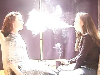 Expose to female Smoke