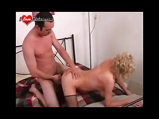 Mature enjoys her young friend