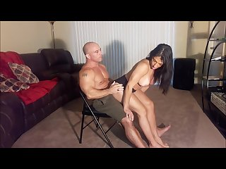 Alexis grinds my cock until i cum