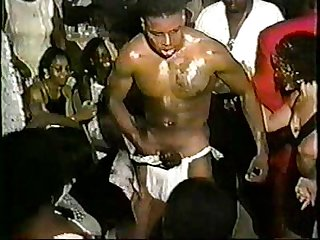 Black male strippers pt 1