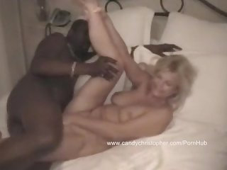 Fucked by a black dom hubby watches