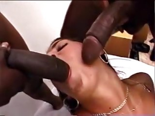 Little white chicks big black monster dicks 15 silvia lancome