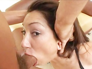 Roxy jezel gets brutally face fucked Dp