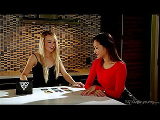 Carmen callaway and alina li at webyoung