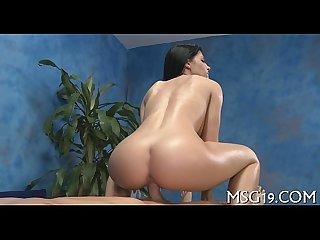 Booty massage