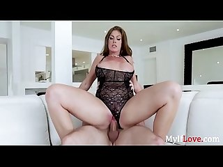 Lacy Black Lingerie Loving- MILF Lures- Ivy Secret