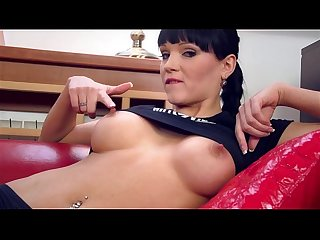Squirting Big Titted Czech Girl Next Door