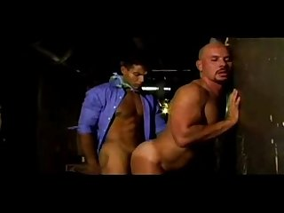 Latin Bodyguard takes his slutty boss against the Wall