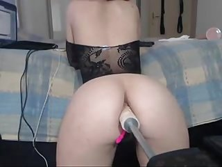 Intimate anal with fuck machines lickmycams com