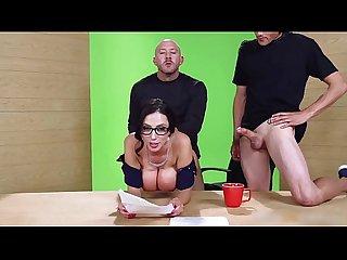 Sexy big boobs news anchor fucked by 2 stranger on cam fuckcam69 com