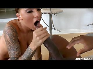 Big black cock worship anal bj trainer for submissive sissy sluts no captions