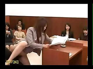 Invisible man in asian courtroom - Title Please