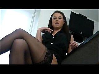 Mistress Degrades And Humiliates Sissy POV