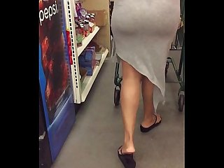 Milf Gray See Through Gown (Part 2)