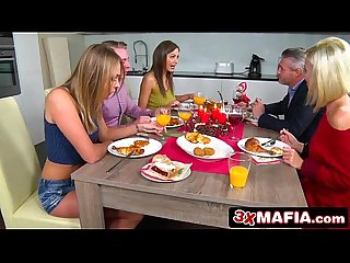 Eastern european twin sisters ivana sugar tina Kay want stepbrother s cock