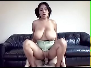 1909912 big tit latina swallower