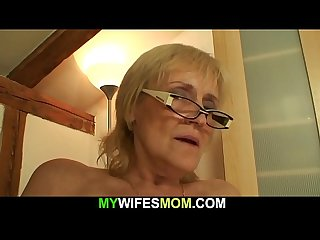 Horny old mother-in-law