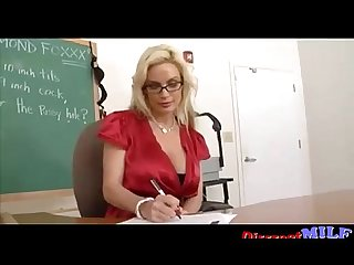 Foxy milf teacher