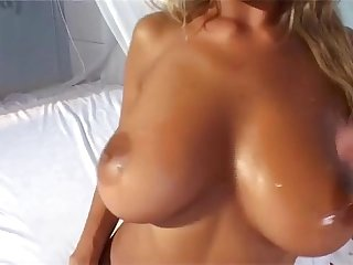 Big tits with hairy pussy 1