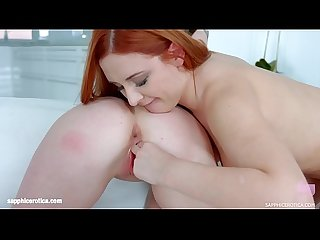 Lesbians Eva Berger and Molly Quinn in Perfect finger by SapphiX