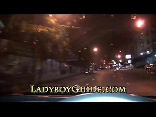 Genuine Thai Ladyboy Picked Up At Night